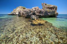 Penguin Island, Shoalwater Islands Marine Park, Rockingham, Western Australia (southwest) Australia Trip, Perth Western Australia, Beautiful Rocks, Beautiful Places, Glass Bottom Boat, Island Cruises, Big Island, Public Art, Park