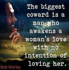 Bob Marley Woman's Love words of wisdom