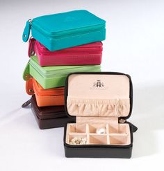 Leather Mini Jewelry Case