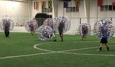 Bubble Soccer in Las Vegas at Golazo Indoor Soccer Facility