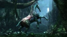 Direhorse from James Cameron's Avatar