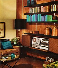 Living room 1971 Midcentury