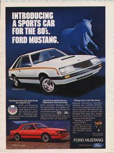 The Mustang has come a long way indeed.