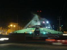 Fuente del Camarón, Ciudad del Carmen, Campeche, México.