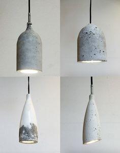 Good h ngende Betonlampen selber machen Anleitung u Ideen