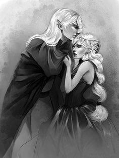 Rowan and Aelin. Stay with me by Alicechan on DeviantArt