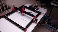 Laser engraver with arduino