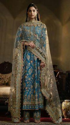 Pakistani Wedding Dresses, Indian Wedding Outfits, Bridal Outfits, Indian Outfits, Pakistani Dresses Casual, Indian Gowns Dresses, Stylish Dresses For Girls, Dress Indian Style, Desi Clothes