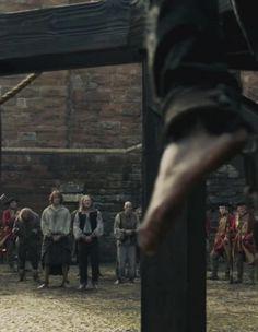Jamie (Sam Heughan) and Taran (Douglas Henshall) . Starz Series, Outlander Series, Tv Series, Douglas Henshall, Wentworth Prison, Outlander Season 1, Star Wars, Take My Breath, Life Is A Journey