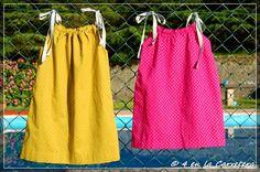 TUTORIAL: pillow case dress. Vestido. Tela France Duval Stalla fabric