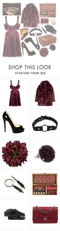 """""""🌵 -Not everybody wants an enemy Call me the culprit and that's all you'll see"""" by peachbutt ❤ liked on Polyvore featuring STELLA McCARTNEY, H&M, Christian Louboutin, Almost Famous, Authentic Models, Chanel, NoelleFawn and peachbuttsets"""