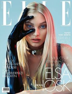 : See the top stories from the past week in September. Editorials: Elsa Hosk Poses in Sleek Styles for ELLE Turkey Lara Stone Models Fashion Forward Looks in Vogue India Adriana Lima Has a Glamorous Workout in Numero Russia Gigi Hadid Elle Magazine, Korean Magazine, Paper Magazine, Model Magazine, Magazine Collage, Magazine Editorial, Living Magazine, Design Magazine, Elle Fashion