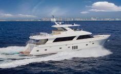 Fabulous looking 85' Ocean Alexander Motoryacht.  We'd love to see what the inside looks like!