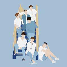 Btob Members, Sungjae Btob, Vector Art, Pose, Wattpad, Fan Art, Wallpapers, Cartoon, Illustration