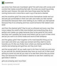 Types of people stardust girls, galaxy girls Writing Help, Writing Tips, Writing Prompts, Pretty Words, Beautiful Words, Beautiful Things, Types Of People, Types Of Girls, Look Girl