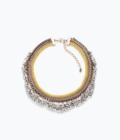 SHINY CRYSTAL NECKLACE-Jewellery-Accessories-WOMAN | ZARA United States