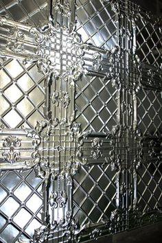 Tin Ceiling Tiles - Trellis 62cm x 62cm - View All - Wallpaper & Decor