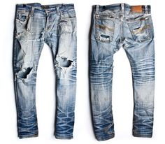 denim  #jeans #fade #selvedge #indigo #menswear #fashion