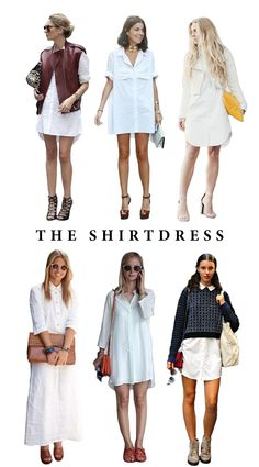 The Shirtdress by @Alecia @ LIKES OF US