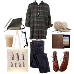 Untitled #176 by the59thstreetbridge on Polyvore featuring J.Crew, Borders&Frontiers, Cutler and Gross, Justin Boots and Guide London