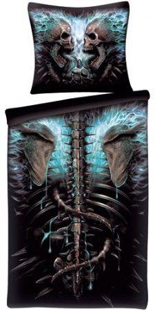 Spiral Bettwäsche Flaming Spine 135x200 / 80x80 cm