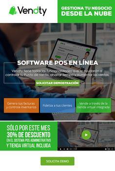#NOVOCLICK esta con #Vendty #Software #GestionaTuNegocio desde la nube E-mail Marketing, Software, Point Of Sale, Clouds, Style