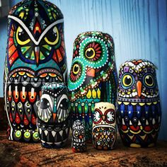 The matryoshka or 'Russian nesting doll' dates to an origin of 1890 with Vasily Zvyozdochkin, who was a folk crafts painter at Abramtsevo, working from a design by Sergey Malyutin.  Andrea Larko of Indiana, PA, with a growing fame as an influential and innovative artist in the Fly-fishing Art community, continues to amaze with her impressive variety of talent.  Check out Andrea's Etsy page - https://www.etsy.com/shop/andrealarko