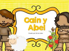 Caín y Abel Cain Y Abel, Sunday School Crafts, Ideas Para, How To Plan, Bible Crafts, Drawings, Sunday School Activities, Visual Aids, Happy Hour