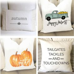 Warm Up Your Decor with These Lovely Farmhouse Fall Pillows - Centsible Chateau Fall Pillows, Throw Pillows, Bay Window Curtain Rod, Window Seats, Cabinets To Ceiling, Bathroom Mirrors Diy, Bathrooms, Diy Kitchen Cabinets, Gray Cabinets