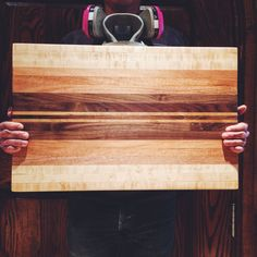 16 x 22 Hardwood Cutting Board by CARRERACARVINGCO on Etsy