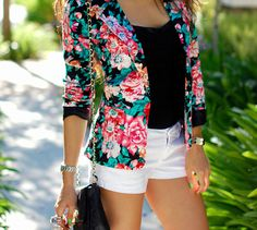 shorts & blazer !