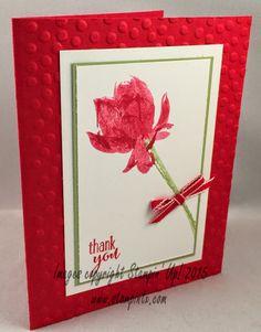 Lotus Blossom, Sale-a-Bration 2015, swap card