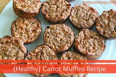 Ten June: Healthy Carrot Muffins Recipe