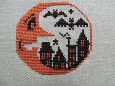 Wicked Stitcher- Prairie Schooler- Boo Moon