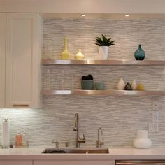 back splash made from reclaimed wood love the contrast Light Cherry Cabinet Kitchen Designs Blue Cherry Kitchen Cabinets