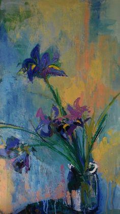ARTFINDER: Iris by victoria cozmolici - flowers