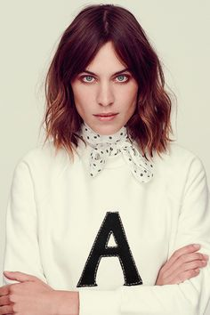 Alexa Chung photographed by Jon Gorrigan for Stella Magazine
