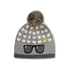 Just fell in love with the Sunglasses Intarsia Pom Hat for $48 on C. Wonder! Click on the image and receive 20% off your next full-price purchase and find something you love too!