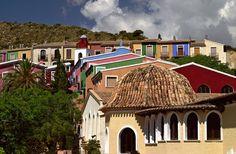 Pueblo Acantilado Outdoor // Recinto de congresos y tejados apartamentos