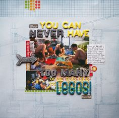 Ideas for Scrapbook Pages about Your Hobbies and Geeky Pursuits | Marcia Fortunato | Get It Scrapped