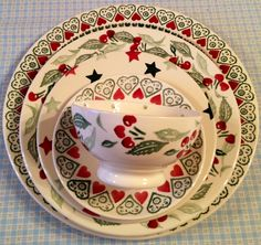 Love!  Emma Bridgewater Cherries and Joy...who can ever have enough china?