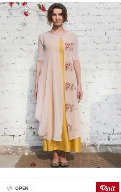 Change the plain to kalamkari and outside to silk
