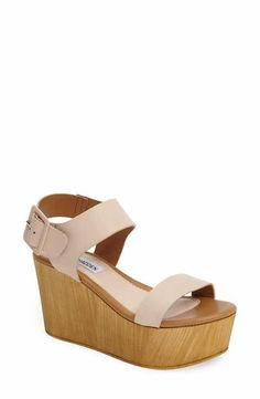 eabd4289201f Steve Madden Shiloh Platform Wedge Sandal (Women) Platform Wedge Sandals
