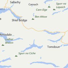 Silversands Caravan And Campsite , Portnaluchaig Campsites, Inverness-Shire