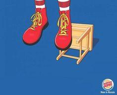 RIP Mc Donald's  By Burger King