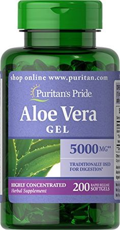 Aloe Vera is a plant that originated in Africa, and has been recognized for its calming and restorative benefits since ancient times.** It is a natural substance that contributes to the well-being of the body, and Puritan�s Pride has made it easy and convenient for you to reap these benefits with our Aloe Vera capsules, softgels and tablets. Aloe Vera contains a vast array of vitamins, minerals, amino acids, polysaccharides and phenolic compoun