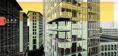 Urban Abstract Illustration