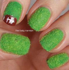 Football Field Nails