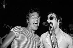 Bruce and Southside Johnny #entertainment #singer