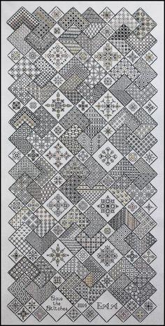 best ideas about Blackwork Motifs Blackwork, Blackwork Cross Stitch, Blackwork Embroidery, Cross Stitch Charts, Cross Stitch Designs, Cross Stitching, Cross Stitch Embroidery, Embroidery Patterns, Cross Stitch Patterns
